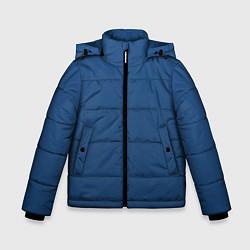 Куртка зимняя для мальчика 19-4052 Classic Blue цвета 3D-черный — фото 1