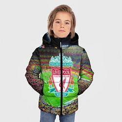 Куртка зимняя для мальчика FC Liverpool цвета 3D-черный — фото 2