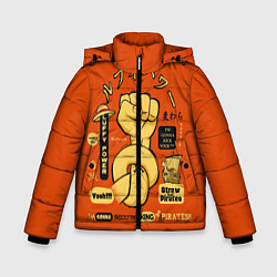 Куртка зимняя для мальчика One Piece цвета 3D-черный — фото 1