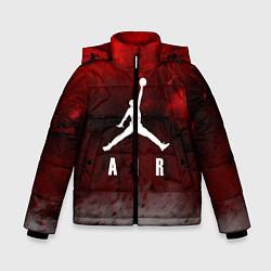 Куртка зимняя для мальчика JORDAN AIR SPACE цвета 3D-черный — фото 1