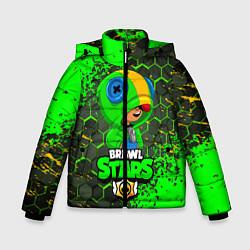 Зимняя куртка для мальчика BRAWL STARS LEON