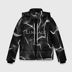 Детская зимняя куртка для мальчика с принтом LINEAGE 2, цвет: 3D-черный, артикул: 10202647106063 — фото 1