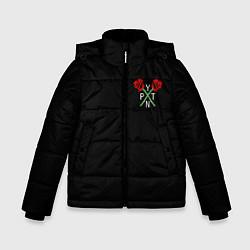 Куртка зимняя для мальчика Payton Moormeie цвета 3D-черный — фото 1