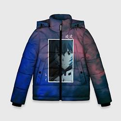Детская зимняя куртка для мальчика с принтом Первое дитя, цвет: 3D-черный, артикул: 10203908706063 — фото 1