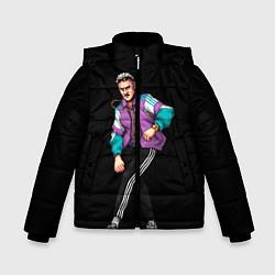 Куртка зимняя для мальчика Ильич цвета 3D-черный — фото 1