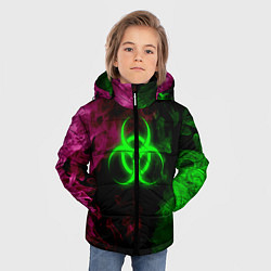 Куртка зимняя для мальчика NCoV цвета 3D-черный — фото 2