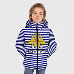 Куртка зимняя для мальчика Тельняшка ВМФ цвета 3D-черный — фото 2