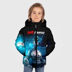 Куртка зимняя для мальчика ВМФ России цвета 3D-черный — фото 2