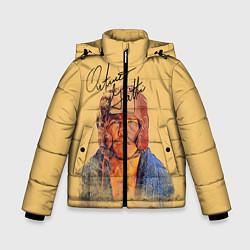 Куртка зимняя для мальчика Arturo Gatti цвета 3D-черный — фото 1