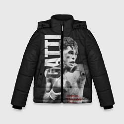 Куртка зимняя для мальчика Gatti цвета 3D-черный — фото 1