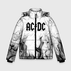 Куртка зимняя для мальчика ACDC цвета 3D-черный — фото 1
