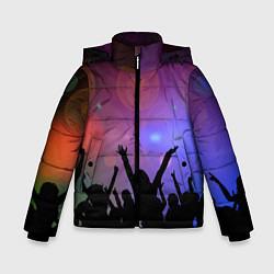 Куртка зимняя для мальчика Пати цвета 3D-черный — фото 1