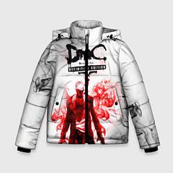 Куртка зимняя для мальчика Devil may cry цвета 3D-черный — фото 1
