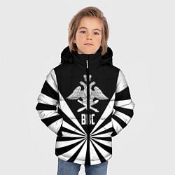 Куртка зимняя для мальчика ВВС цвета 3D-черный — фото 2