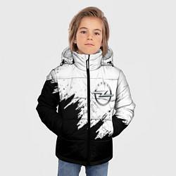 Куртка зимняя для мальчика Opel цвета 3D-черный — фото 2