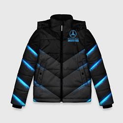 Куртка зимняя для мальчика Mercedes-AMG цвета 3D-черный — фото 1