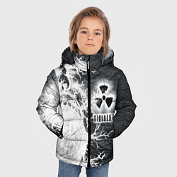 Куртка зимняя для мальчика Сталкер цвета 3D-черный — фото 2