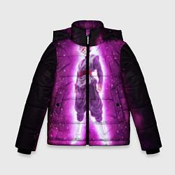 Куртка зимняя для мальчика Супер Сайян Super Saiyan цвета 3D-черный — фото 1