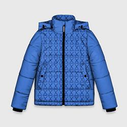 Куртка зимняя для мальчика Конь БоДжек Свитер цвета 3D-черный — фото 1