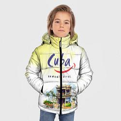 Куртка зимняя для мальчика Куба цвета 3D-черный — фото 2