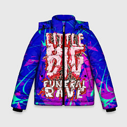 Куртка зимняя для мальчика Little Big: Rave цвета 3D-черный — фото 1