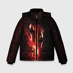 Куртка зимняя для мальчика Join The Hunt цвета 3D-черный — фото 1