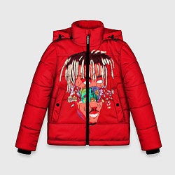 Детская зимняя куртка для мальчика с принтом Juice WRLD, цвет: 3D-черный, артикул: 10213235906063 — фото 1