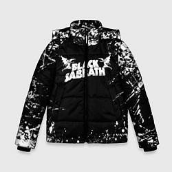 Детская зимняя куртка для мальчика с принтом Black Sabbath, цвет: 3D-черный, артикул: 10213966106063 — фото 1
