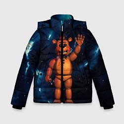 Куртка зимняя для мальчика Five Nights At Freddys цвета 3D-черный — фото 1