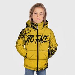 Куртка зимняя для мальчика FACE цвета 3D-черный — фото 2