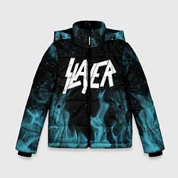 Куртка зимняя для мальчика Slayer цвета 3D-черный — фото 1