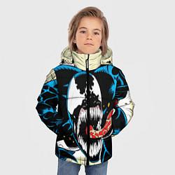 Куртка зимняя для мальчика Venom цвета 3D-черный — фото 2