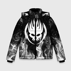 Куртка зимняя для мальчика THE OFFSPRING цвета 3D-черный — фото 1