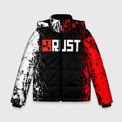 Куртка зимняя для мальчика RUST цвета 3D-черный — фото 1