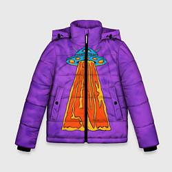 Куртка зимняя для мальчика Vibes of Love цвета 3D-черный — фото 1