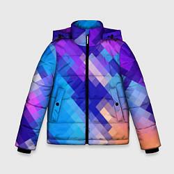 Куртка зимняя для мальчика Пикси цвета 3D-черный — фото 1