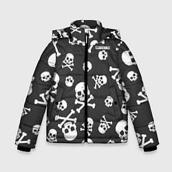 Куртка зимняя для мальчика Scorpions цвета 3D-черный — фото 1