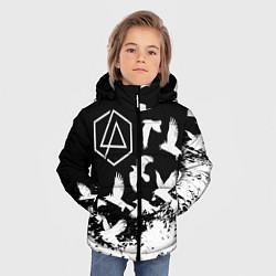 Куртка зимняя для мальчика LINKIN PARK 1 цвета 3D-черный — фото 2
