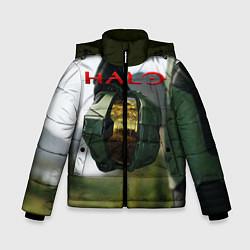 Куртка зимняя для мальчика Halo Z цвета 3D-черный — фото 1