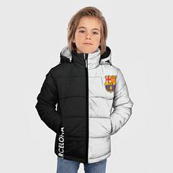 Куртка зимняя для мальчика Barcelona цвета 3D-черный — фото 2