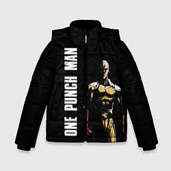 Куртка зимняя для мальчика One Punch Man цвета 3D-черный — фото 1