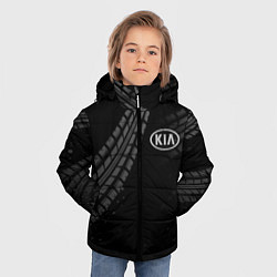 Детская зимняя куртка для мальчика с принтом KIA, цвет: 3D-черный, артикул: 10246245706063 — фото 2