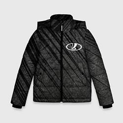 Куртка зимняя для мальчика LADA цвета 3D-черный — фото 1