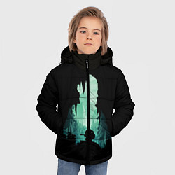 Куртка зимняя для мальчика THE LAST OF US цвета 3D-черный — фото 2