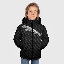 Куртка зимняя для мальчика Jaguar Z цвета 3D-черный — фото 2