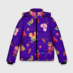 Детская зимняя куртка для мальчика с принтом Минни Маус, цвет: 3D-черный, артикул: 10250076706063 — фото 1