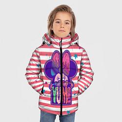 Детская зимняя куртка для мальчика с принтом Minnie Mouse YUM!, цвет: 3D-черный, артикул: 10250082506063 — фото 2
