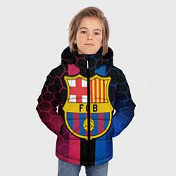 Куртка зимняя для мальчика BARSELONA цвета 3D-черный — фото 2