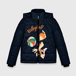 Куртка зимняя для мальчика Волейбол цвета 3D-черный — фото 1