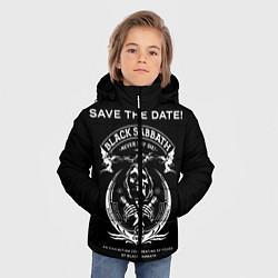 Куртка зимняя для мальчика The End World Tour цвета 3D-черный — фото 2